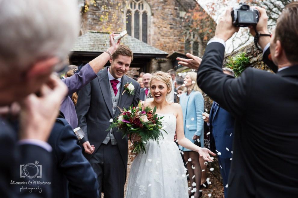 Holne Park House Ashburton Wedding