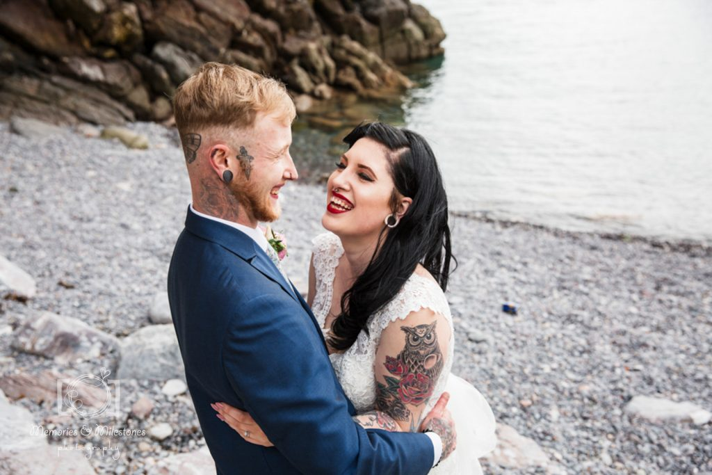 living coasts torquay wedding photographer