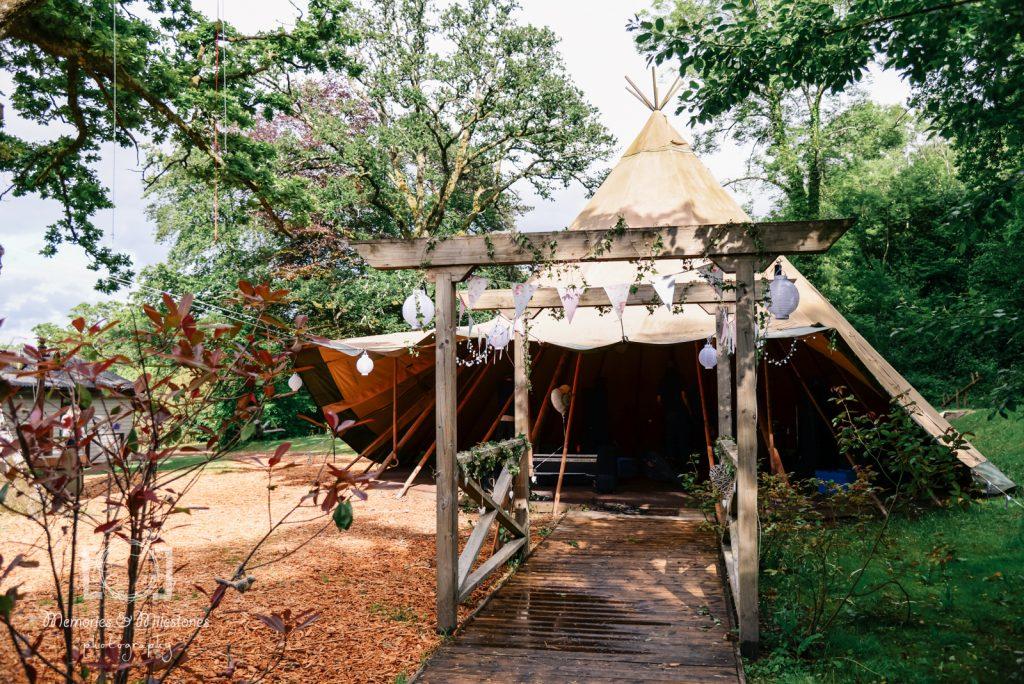 Yurt Camp Devon Wedding