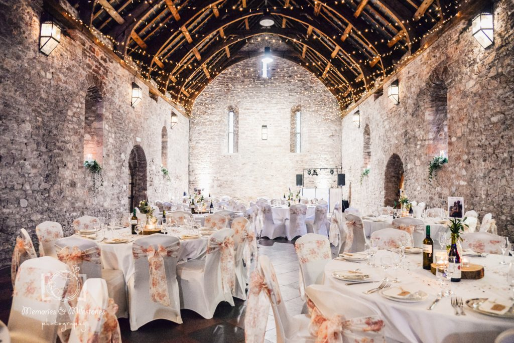 spanish barn torre abbey wedding