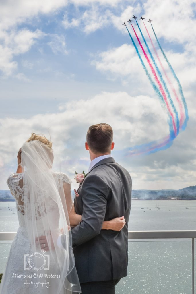 RAF Red Arrows Wedding