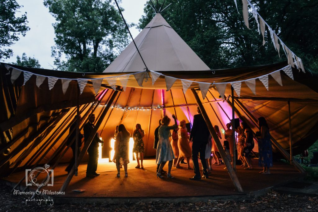 Yurt Camp Devon Wedding