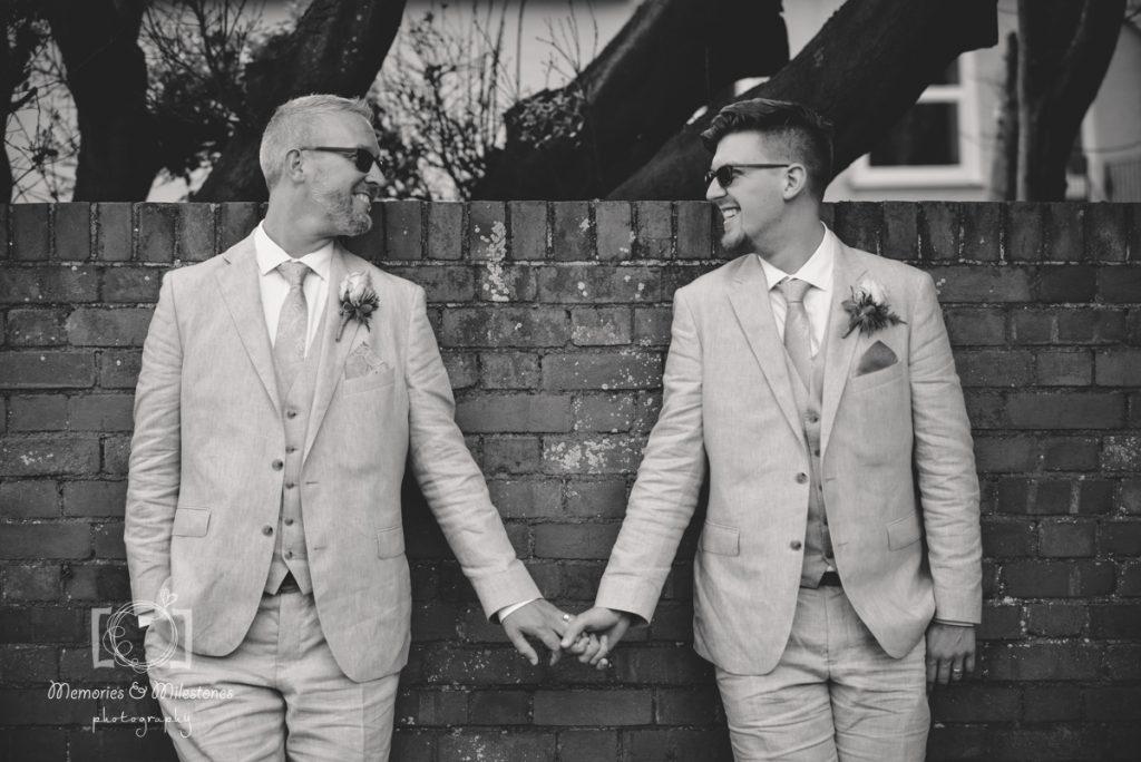 lgbt devon wedding photographer