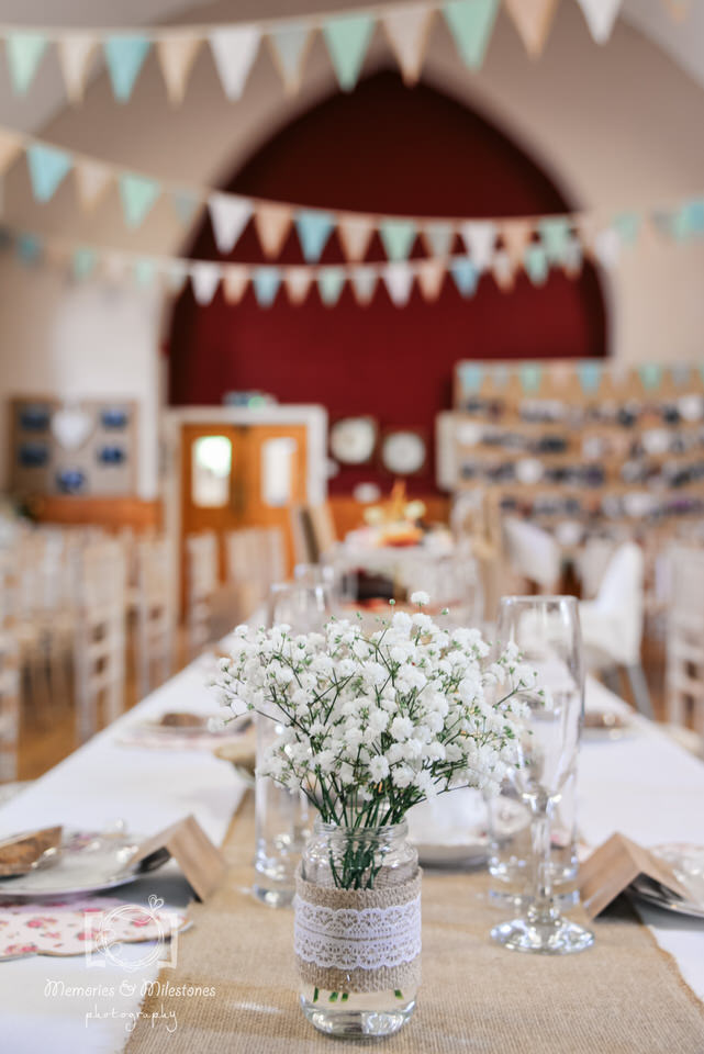 Maker with Rame Village Hall Wedding