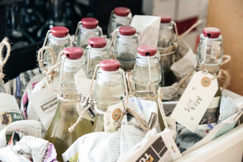 eco wedding devon food and drink