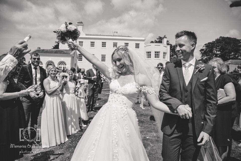 Relaxed wedding photographer Devon Exeter