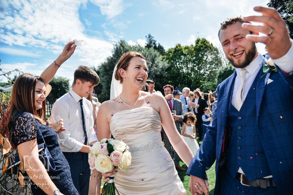 Relaxed wedding photographer Devon Torquay
