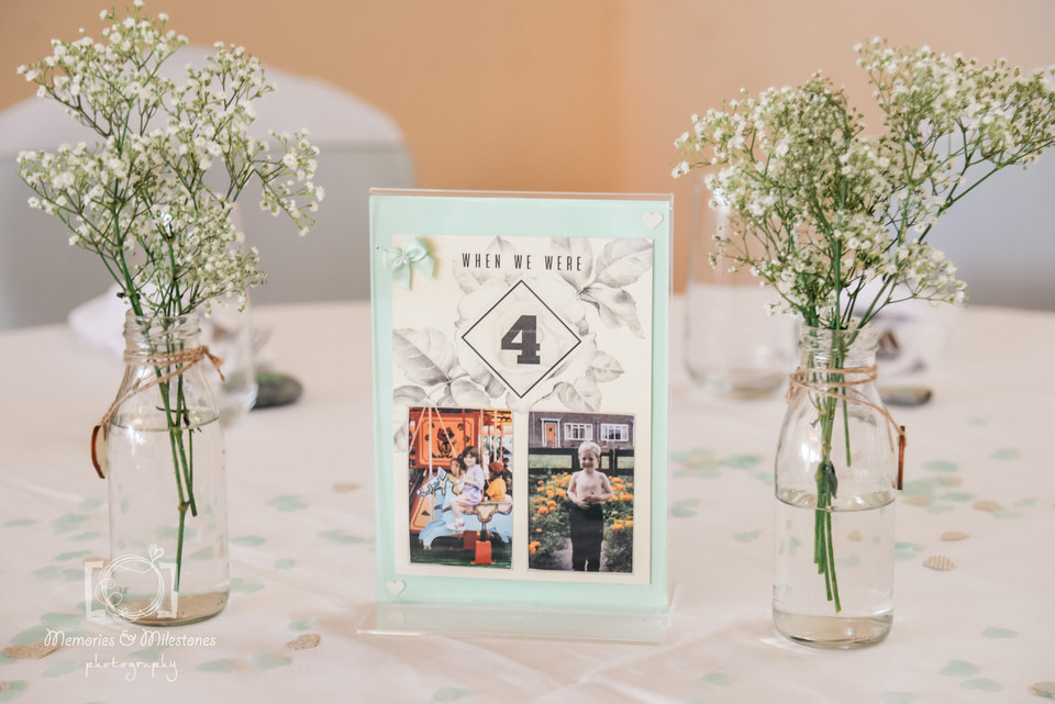 DIY wedding tips table names
