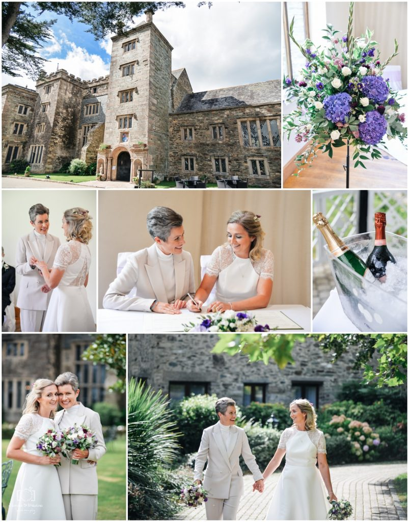 small weddings in Devon boringdon hall