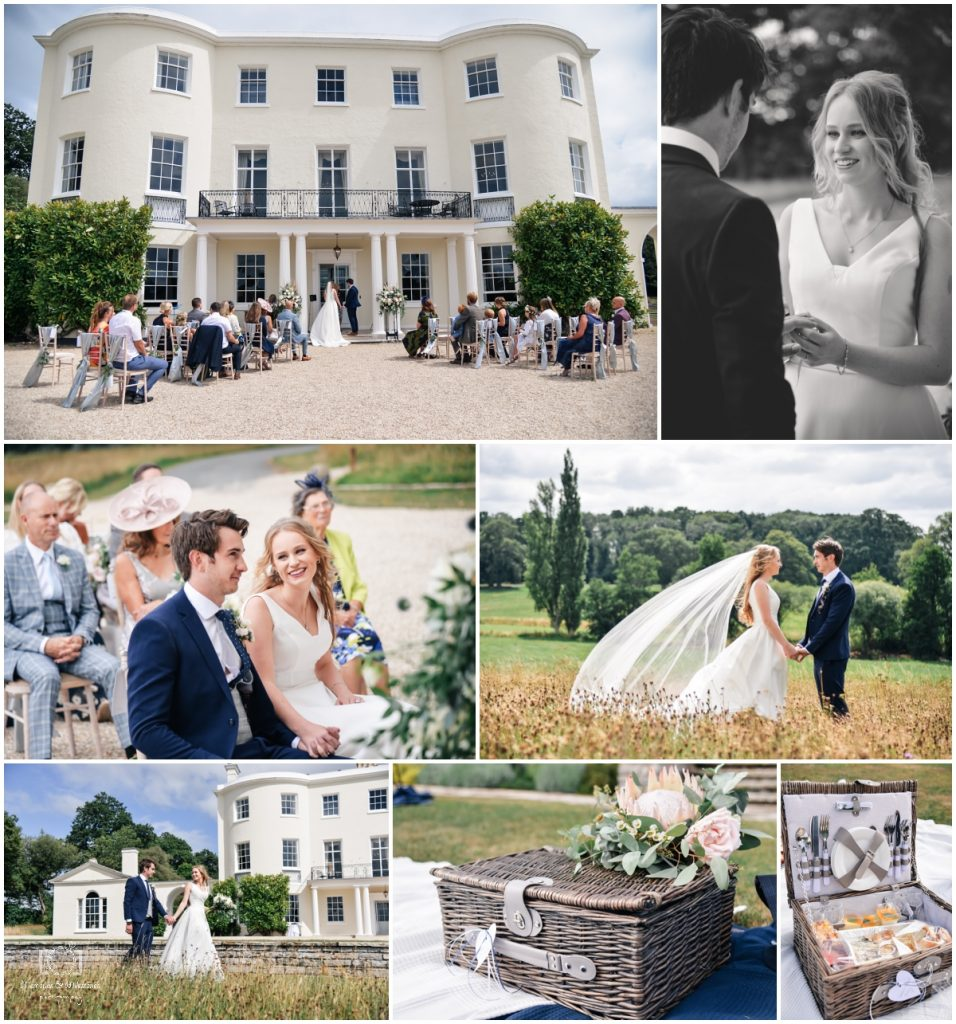 Small wedding at Rockbeare Manor