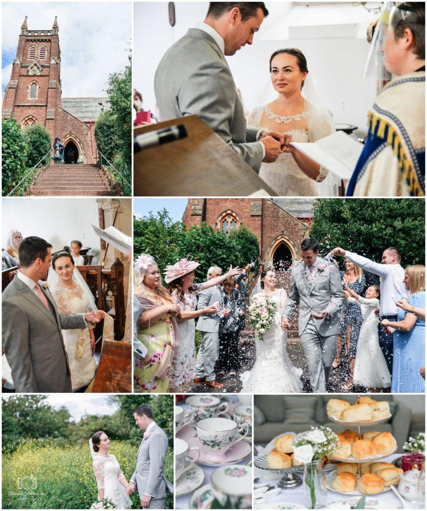 Small wedding photographer Devon