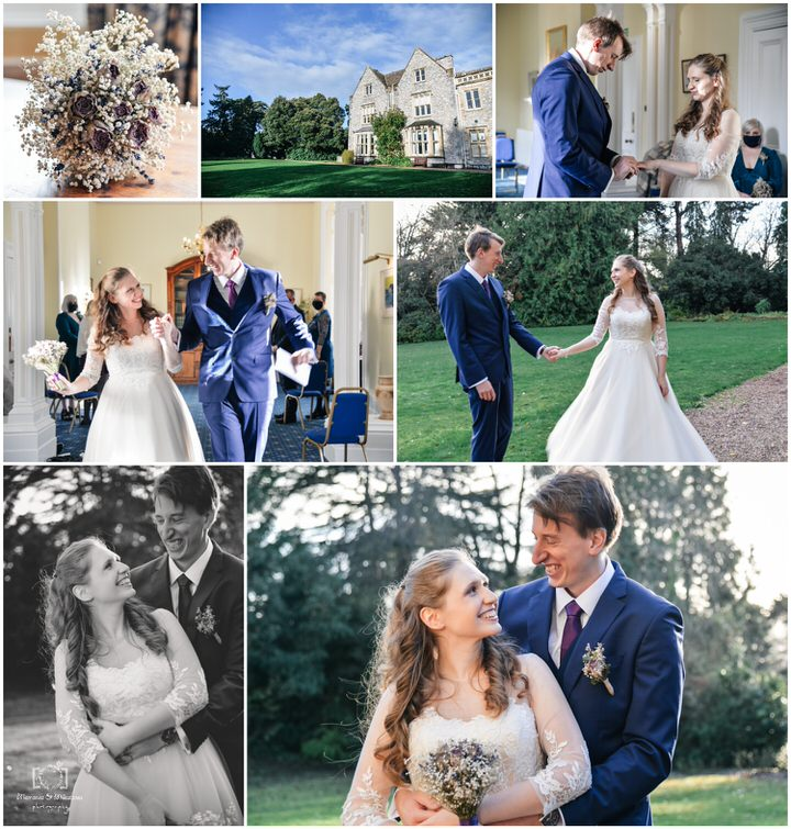elopement wedding larkbeare house exeter