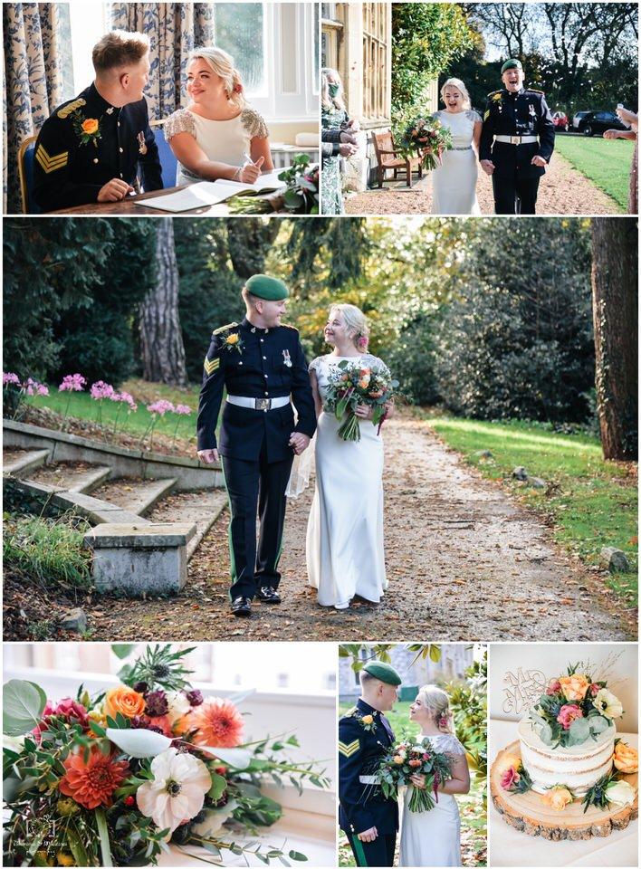 elopement wedding exeter devon larkbeare house