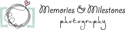 Logo for Devon Wedding Photographer Memories and Milestones