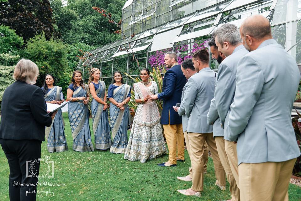 Torre Abbey Spanish Barn Hindu Wedding