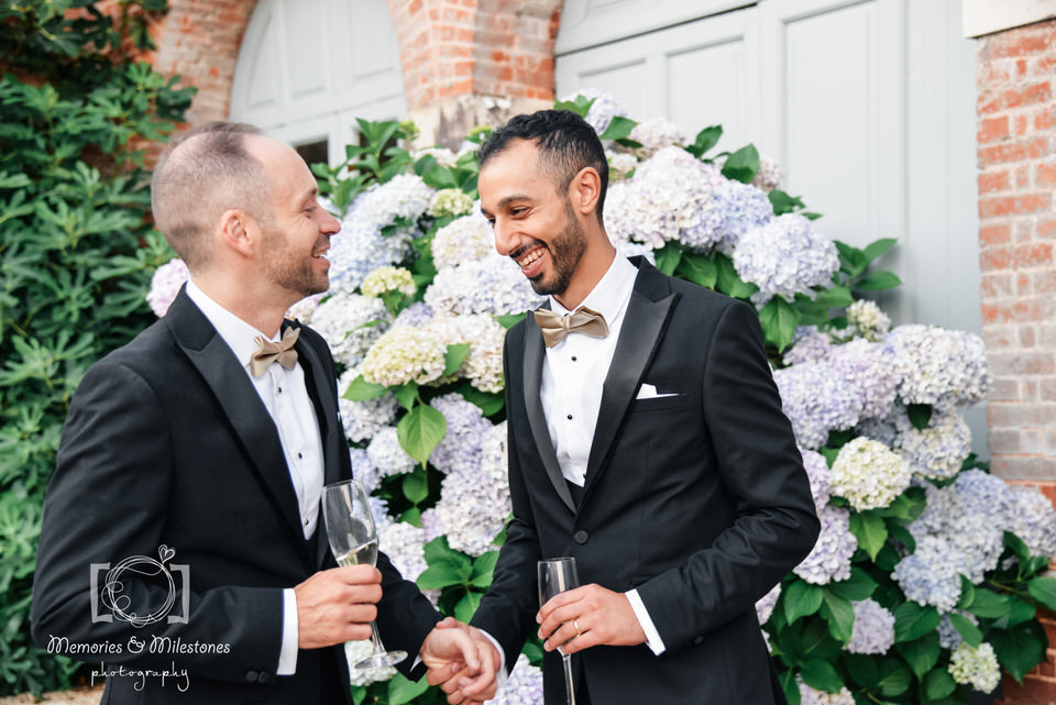 gay wedding photographer devon